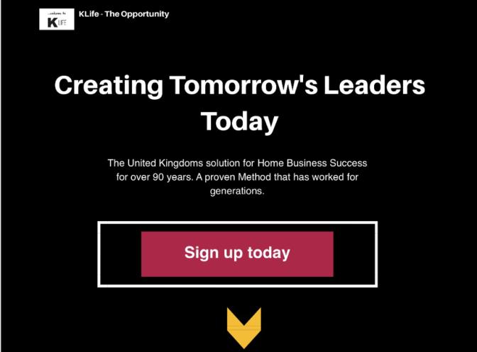 KLife online Opportunity – Online Marketers